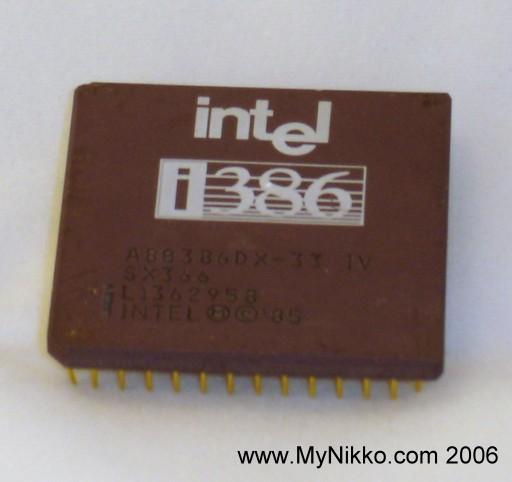 MyNikko.com 微處理器博物館 - 完整列表